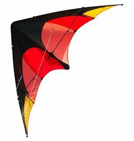 BUFFALO Sportvlieger Elliot Delta 160cm rood/oranje
