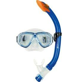 OSPREY Masker&Snorkel set  Jr. Dual Window blauw