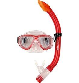 OSPREY Masker&Snorkel set  Jr. Dual Window rood