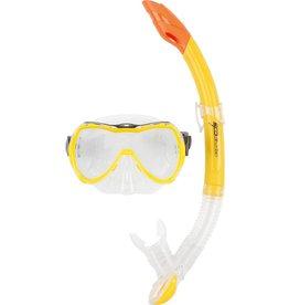 OSPREY Masker&Snorkelset  Jr. Transparant geel
