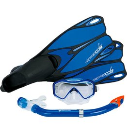 OSPREY Watersports  Dive Set blauw maat 38-39