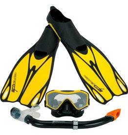 OSPREY Watersports  Dive Set geel maat 44-45