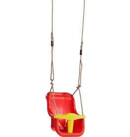 KBT babyzitje luxe -PP-rood/geel