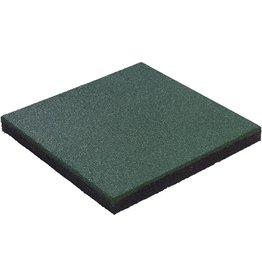 KBT Rubberen tegel  Hicar 45mm groen