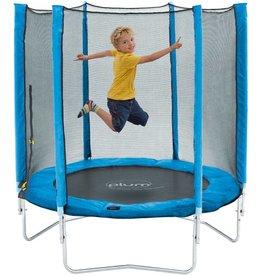 PLUM Trampoline  junior met net blauw 4.5ft