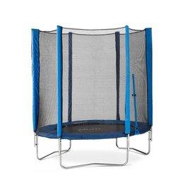 PLUM Trampoline+veiligheidsnet  Junior blauw 6ft