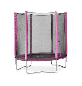PLUM Trampoline met veiligheidsnet  Junior roze