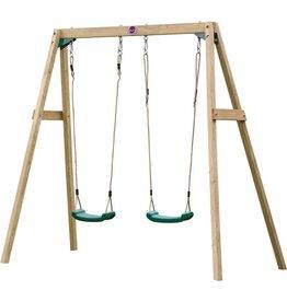 PLUM Schommel set dubbel  hout