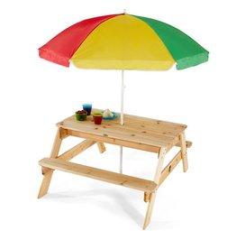 PLUM Picknicktafel met parasol