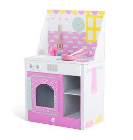 PLUM Speelkeuken  Cabin Pink lemonade hout