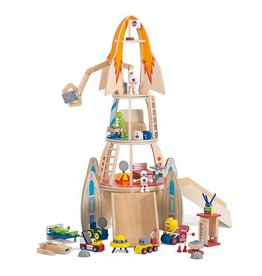 PLUM Speelset  Space Rocket hout