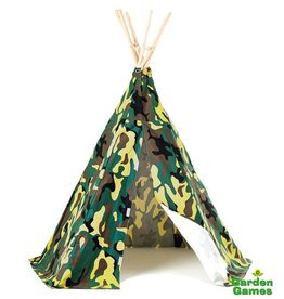 GARDEN GAMES Wigwam play tent Camouflage