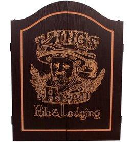 INNERGAMES-D Dart kabinet Kings Head Black&Gold
