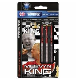 WINMAU Mervyn King steeltip darijlen PVD 24gr