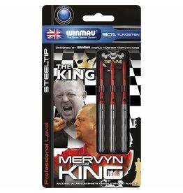 WINMAU Mervyn King steeltip darijlen zilver 22gr