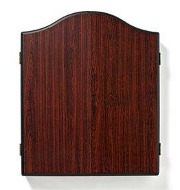 WINMAU dartboard cab. rosewood