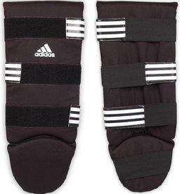 b12af8b1e8c ADIDAS Adidas Boxing scheenbeschermers Good S zwart/wit · Katoenen  scheenbeschermers Maat ...