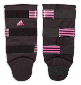 ADIDAS Boxing scheenbeschermers Good XS zwart/roze