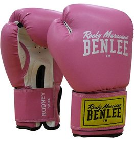 BENLEE Bokshandschoenen  Rodney 12oz roze/wit