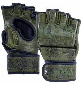 JOYA Fight Fast MMA handschoen Grip leer groen