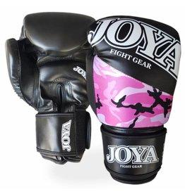 JOYA Bokshandschoenen  Top One Camo  roze