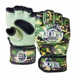 JOYA MMA handschoenen  Fight Fast Camo groen leer