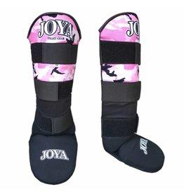 JOYA Scheenbeschermers  Velcro Camo roze XXS