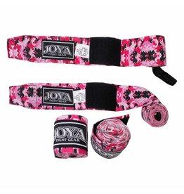 JOYA Fight Gear wrap Camo roze diverse maten