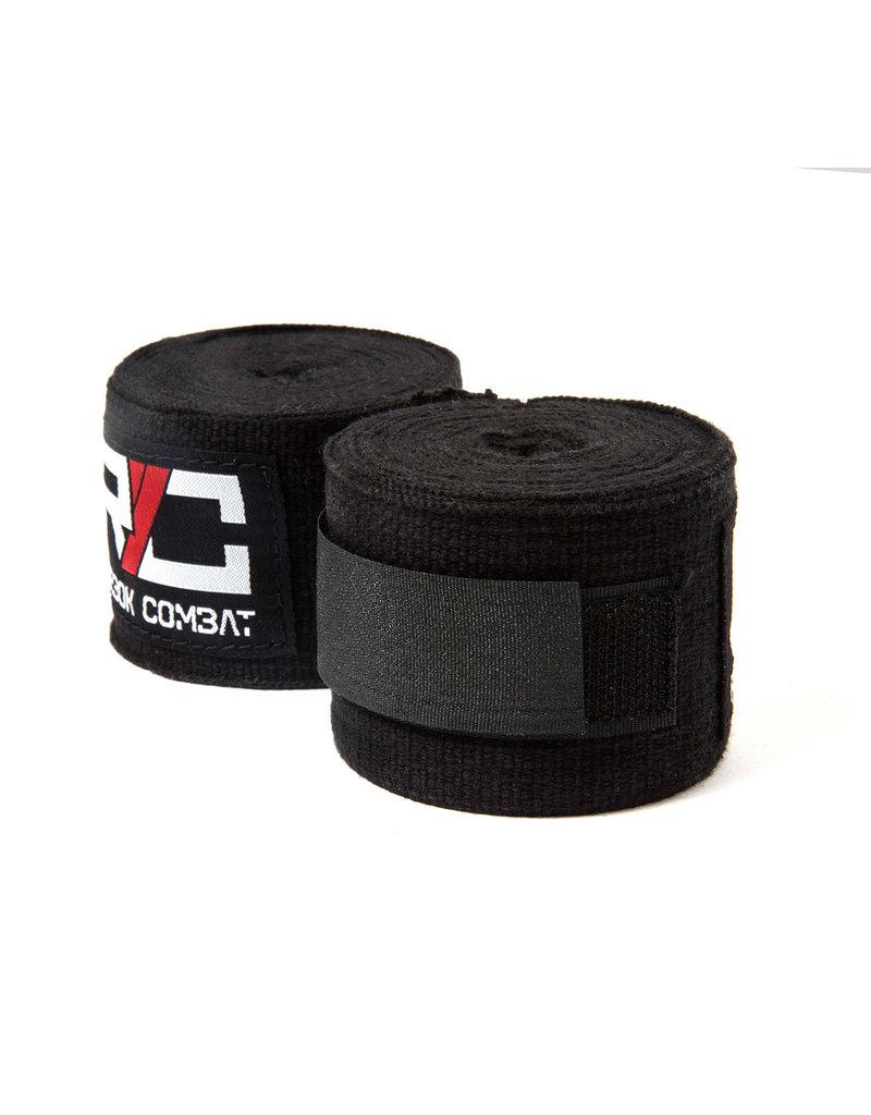 REEBOK  Combat wraps zwart 4,5 mtr