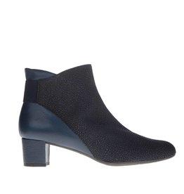 Square Feet Square Feet dames kort laarsje donkerblauw