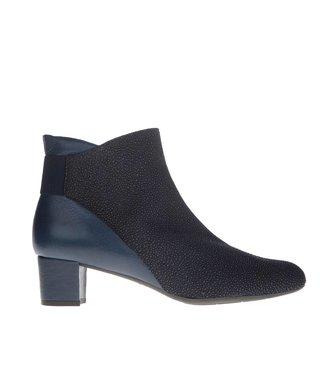 Square Feet dames kort laarsje donkerblauw