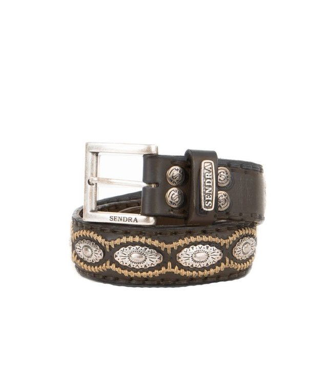 Sendra Sendra ladies belt black leather