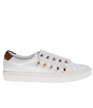 Mi/Mai Paris dames wit leren dames sneaker
