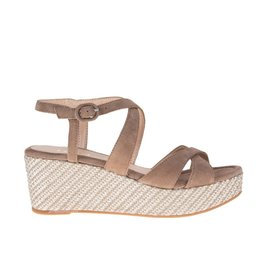 Unisa Unisa dames sandaal met plateau