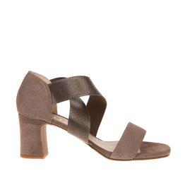 Unisa Unisa sandaal bruin dames