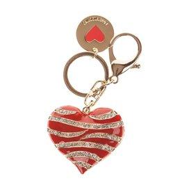 Love Moschino JC5415 Portachiavi metallo oro Rood