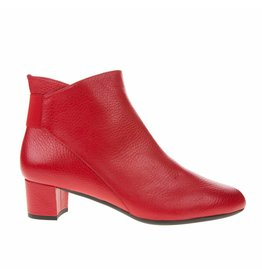 Square Feet Square Feet dames kort laarsje rood