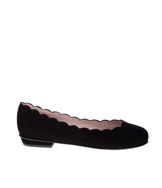 Square Feet dames suède ballerina