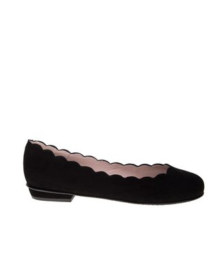 Square Feet Square Feet ladies suede ballerina