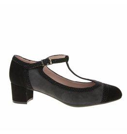 Square Feet Square Feet dames met grijs suède pump met flexibele zool