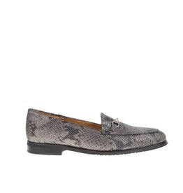 Square Feet Square Feet dames grijs leren loafer