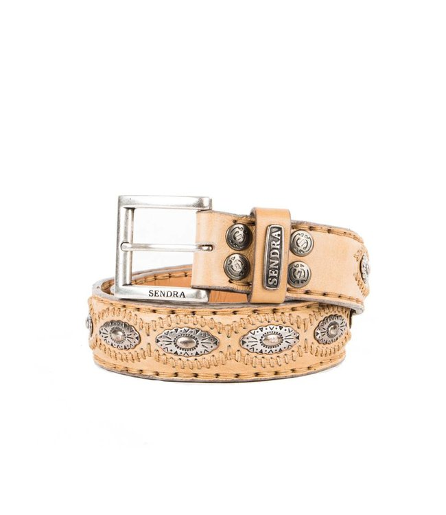 Sendra Sendra Belt 7606 beige leather