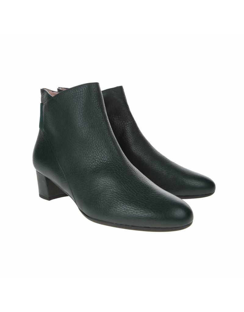 Square Feet Square Feet dames kort laarsje groen leer