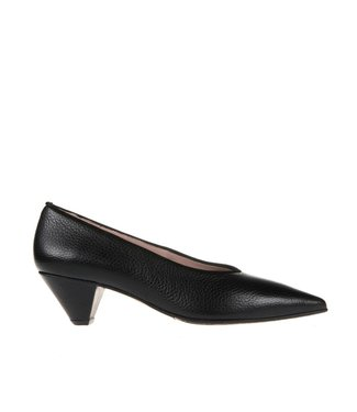 Square Feet Square Feet ladies black leather pump