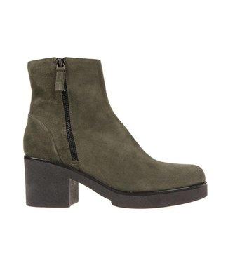 Julie Dee Julie Dee ladies green suede boots
