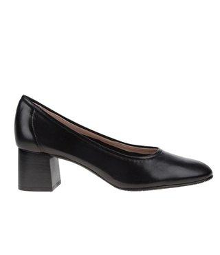 Square Feet dames leren pump
