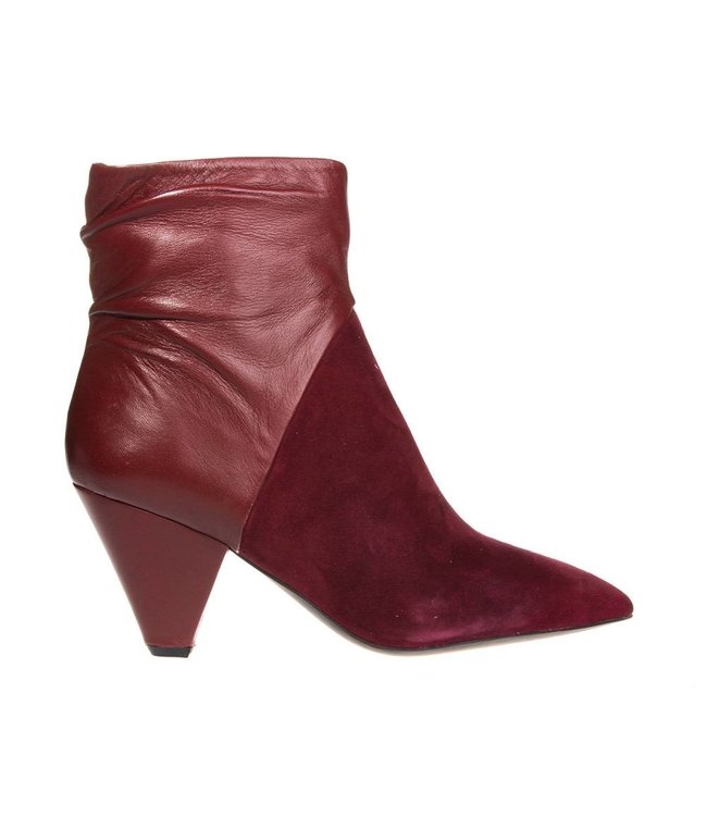 Bruno Premi Bruno Premi ladies red leather with suede boot