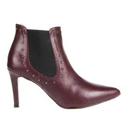 Square Feet Square Feet dames enkel laars elegant bordo