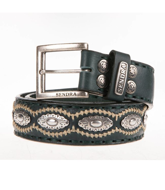 Sendra Sendra Belt 7606 green leather