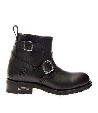 Sendra motor enkel boots dames zwart